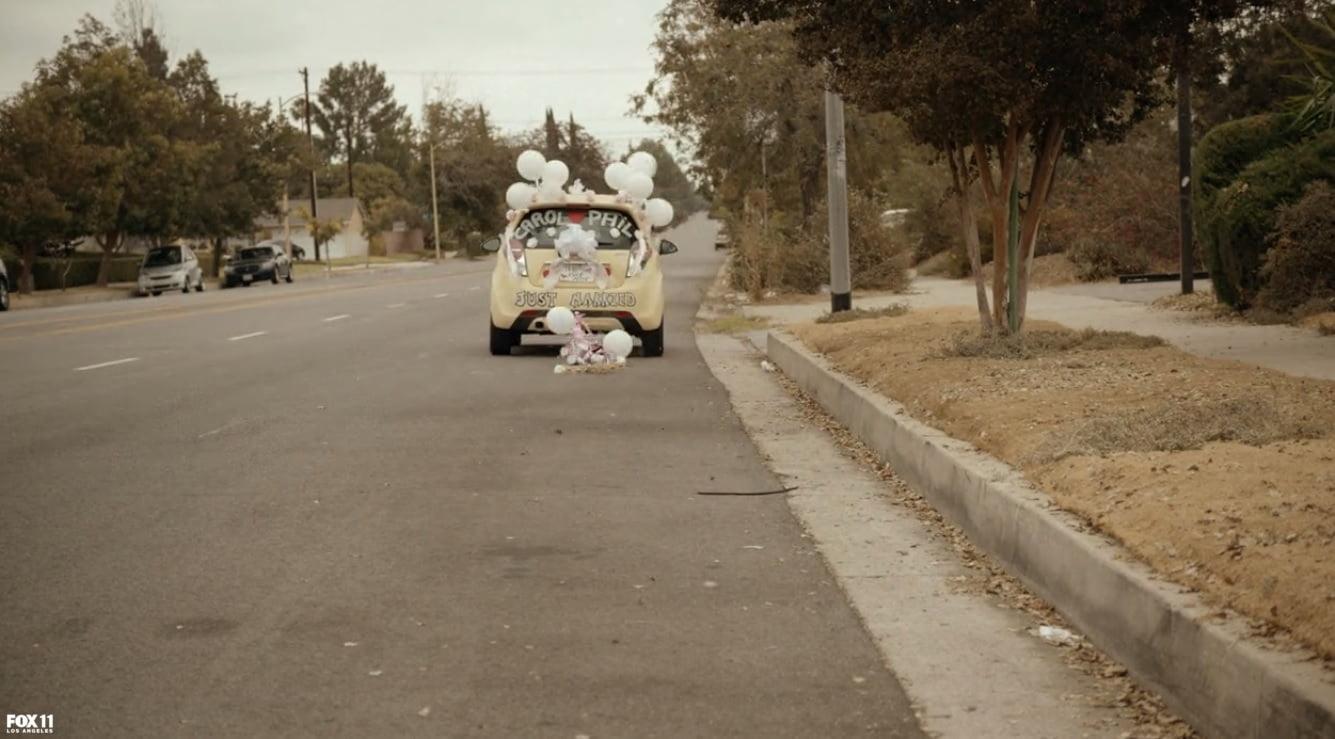 the-last-man-on-earth-raisin-balls-wedding-bells-church-carol-car