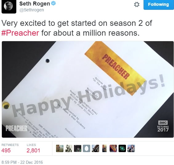 preacher-season-2-filming-locations-script-seth-rogen