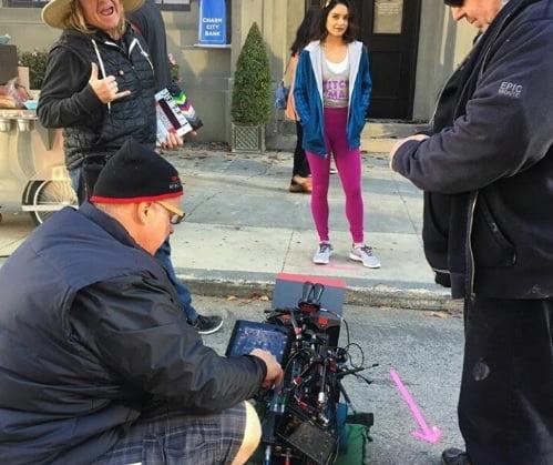 powerless-filming-locations-Vanessa-Hudgens-onset