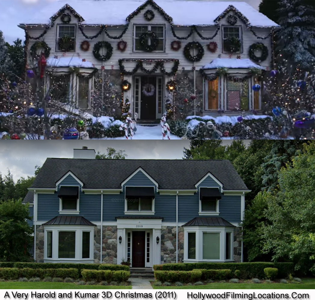 A Very Harold and Kumar 3D Christmas Detroit Filming Locations 2011   Hollywood Filming ...